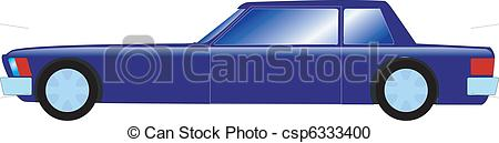 Vector Clipart of stretch limousine car csp6333400.