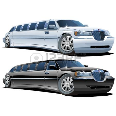 limousine car clipart #7