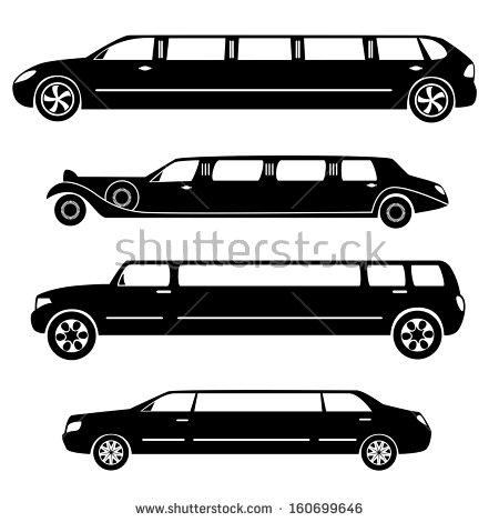 limousine car clipart #5