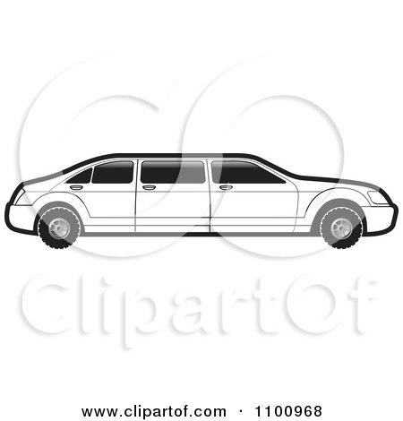 limousine car clipart #3