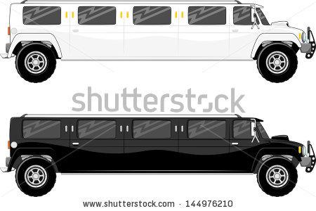 limousine car clipart #4