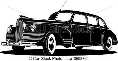 limousine car clipart #15