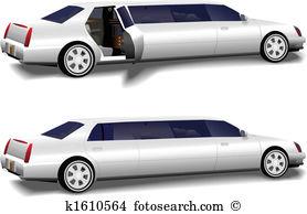 Limousine Clipart and Illustration. 915 limousine clip art vector.