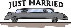 Limousine Clipart Image.