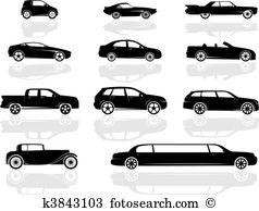 Limousine Clipart and Illustration. 966 limousine clip art vector.