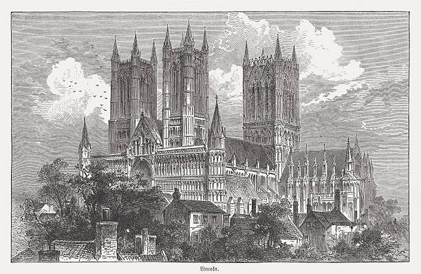 Lincoln Cathedral Clip Art, Vector Images & Illustrations.