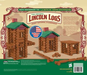 LINCOLN LOGS.