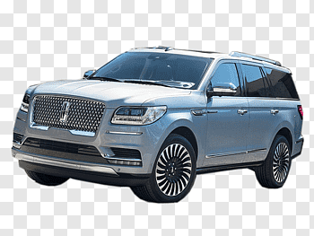2018 Lincoln Navigator Select cutout PNG & clipart images.