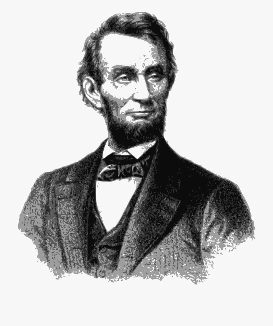 Abraham Lincoln Clipart Famous.