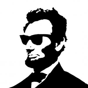 Free Abe Lincoln Silhouette, Download Free Clip Art, Free.