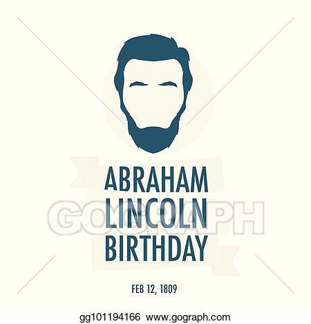 lincolns birthday clipart #15