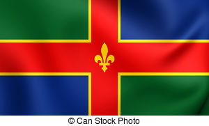 Flag of lincolnshire Illustrations and Clip Art. 16 Flag of.