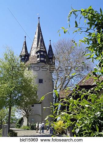 Stock Photograph of Germany, Lake of Constance, Europe, Lindau.