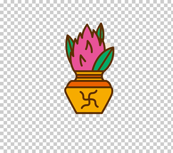 India Buddhism Icon, India linden flower PNG clipart.