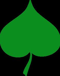 Linden Leaf Clip Art at Clker.com.