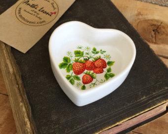 Strawberry dish.