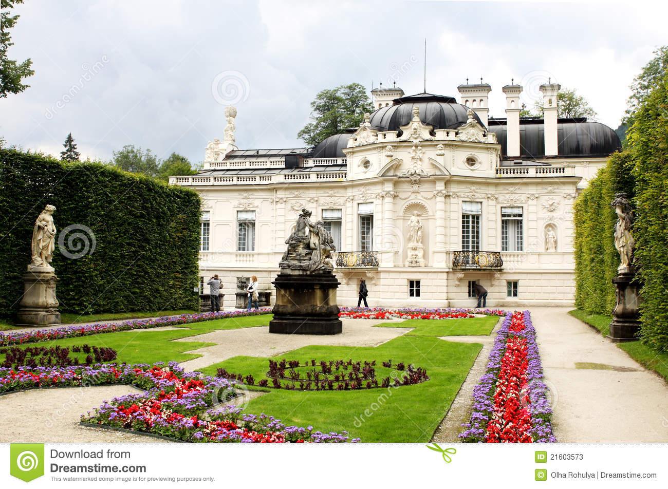 Linderhof Palace Stock Photos.