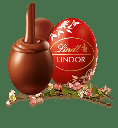 Lindt Lindor Chocolate Egg transparent PNG.