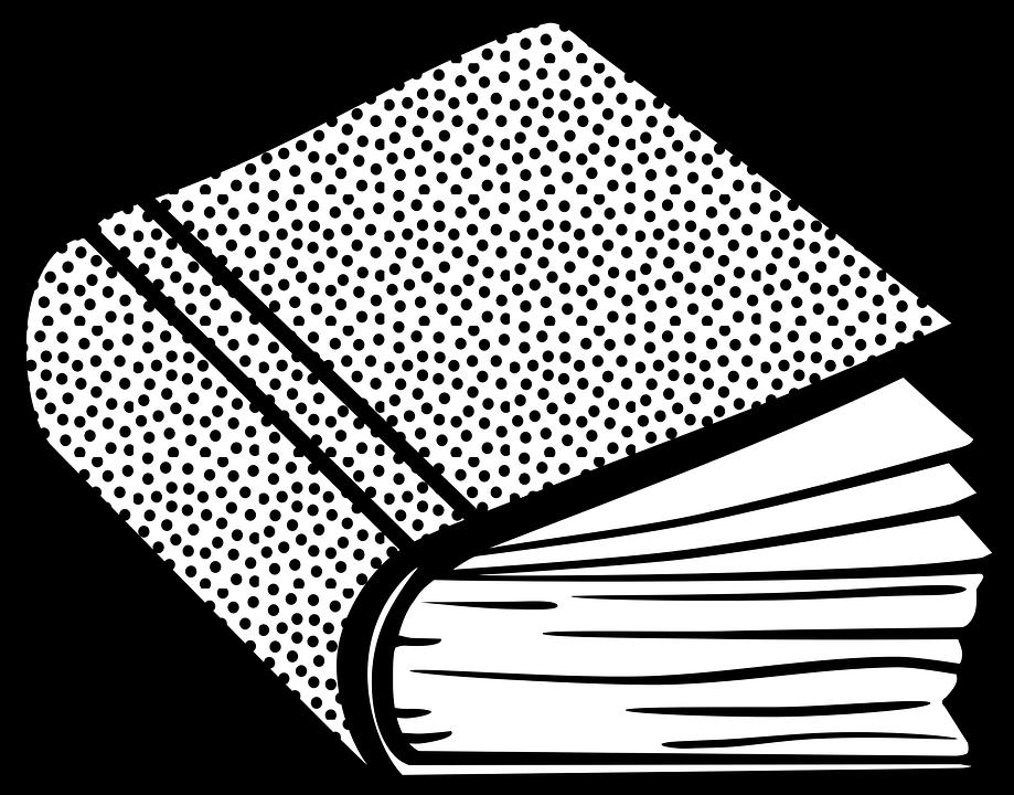 Line Art Book : Line art book clipground