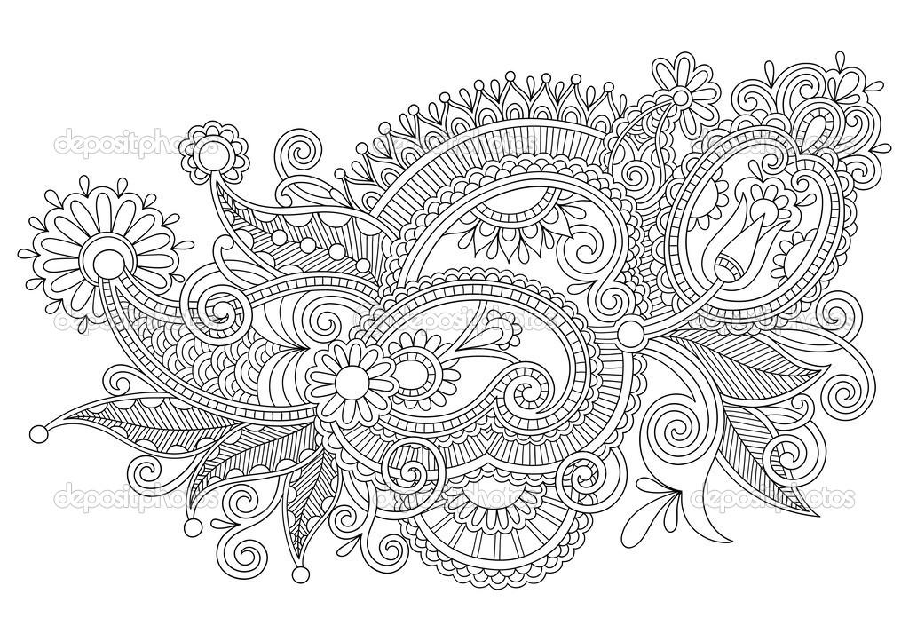 Line Art Design Illustration.