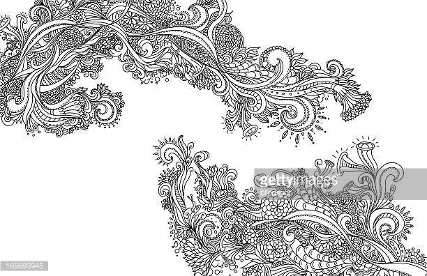 Line Art Design Vector Art.