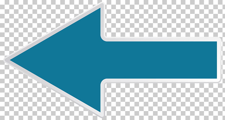 Brand Logo Line Angle, Left Blue Arrow Transparent , blue.