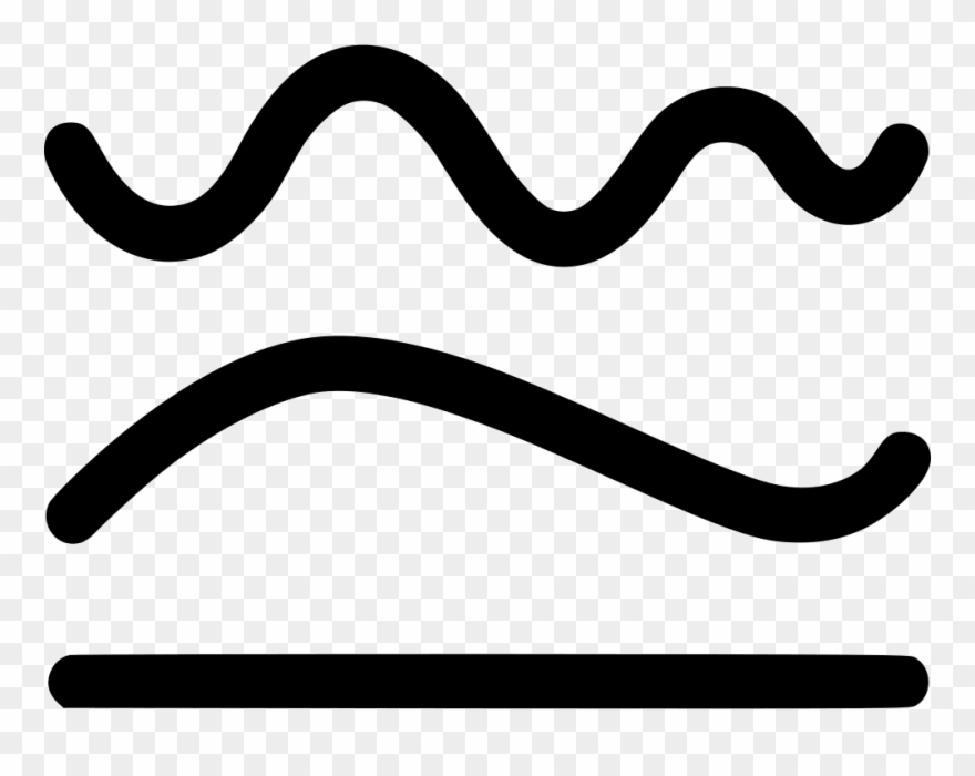 Transparent Simplify Curve Line Straight Shape Path.