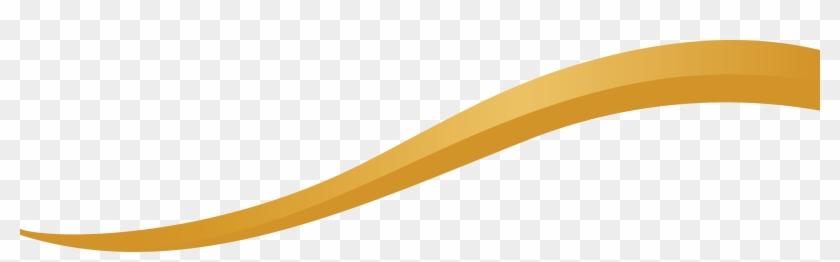 Gold Curve Line Png, Transparent Png.