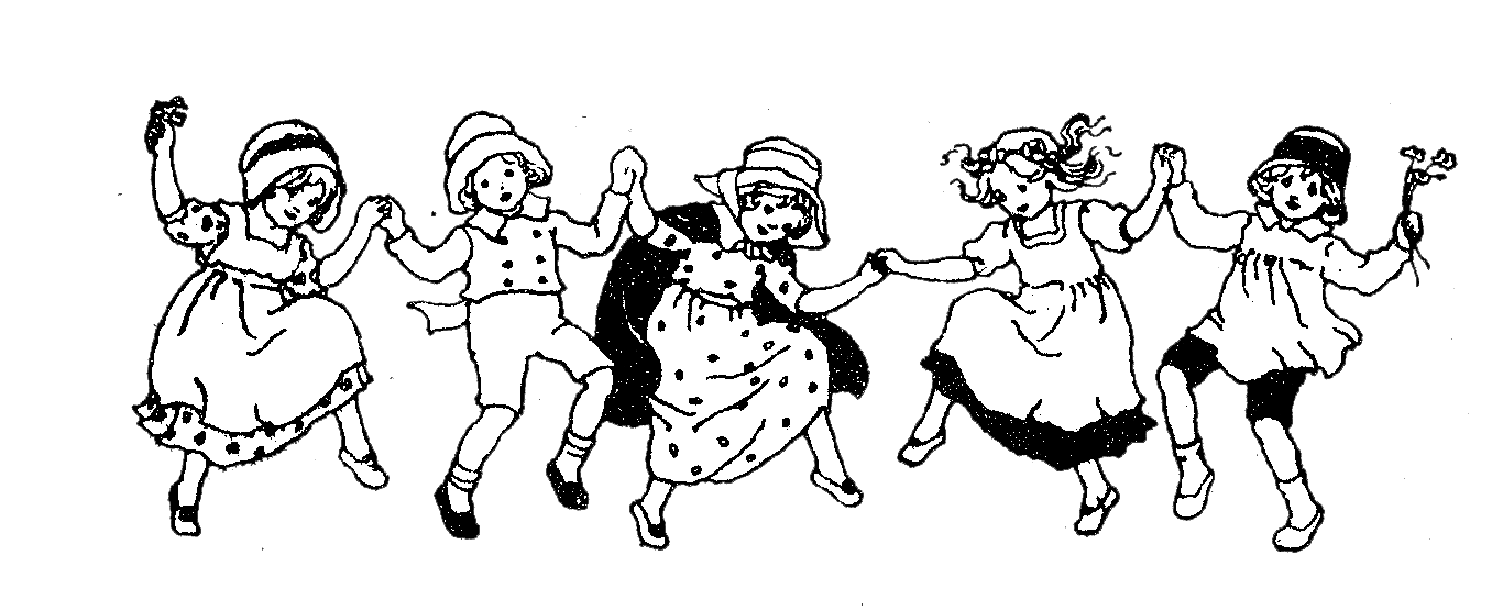 Kids Dancing Clipart Black And White.