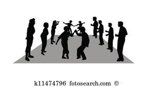 Line dancing Clip Art Illustrations. 4,734 line dancing clipart.