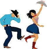 Line dance Clipart Illustrations. 4,734 line dance clip art vector.