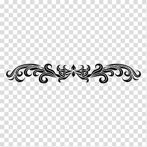 Floral Ornament Decorative arts , line transparent.