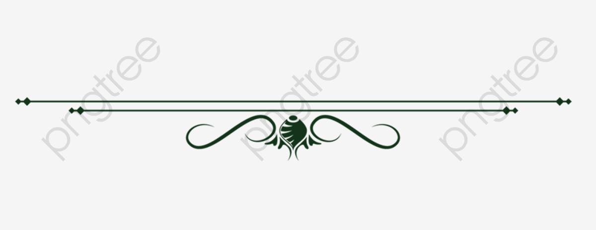 Line Decoration, Black, Straight Line, Decoration PNG.