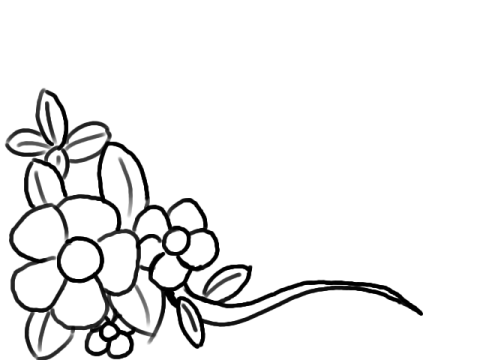 Free Flowers Line Drawing, Download Free Clip Art, Free Clip.