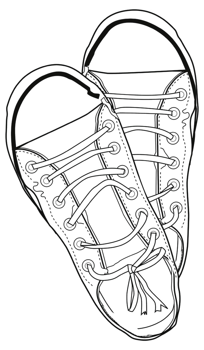 Line drawing clip art.