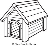 line drawing house clipart #17
