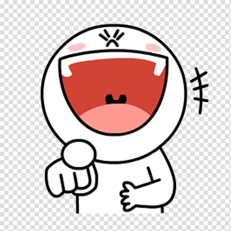 Sticker Line Friends Emoji, Sticker line transparent.