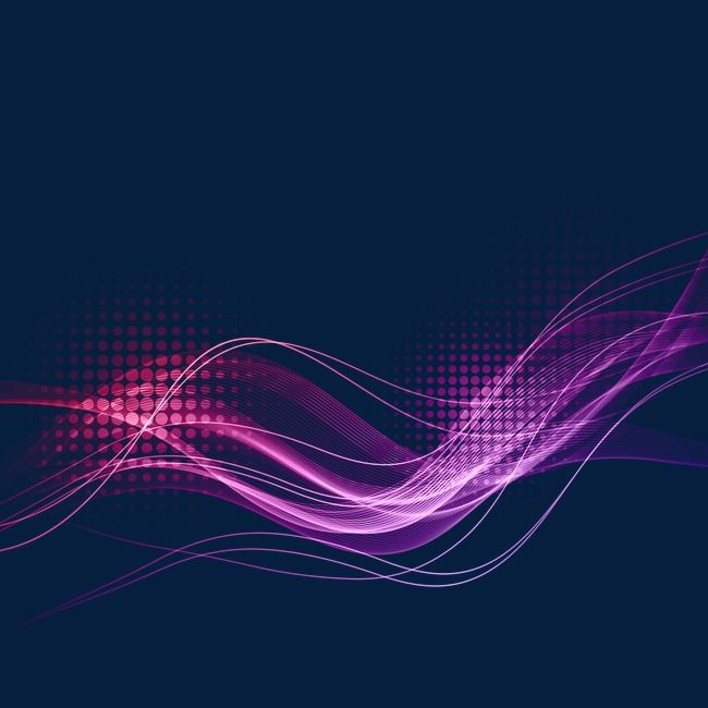 Purple Wave Lines Light Effect Curved Lines in 2019.