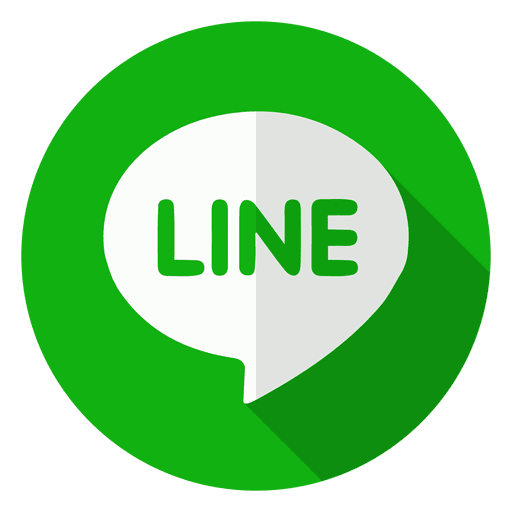 Line icon logo.