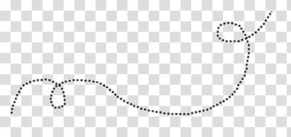 Lines, black dot line illustration transparent background.