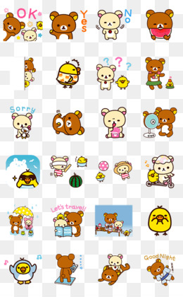 Line Stickers PNG and Line Stickers Transparent Clipart Free.