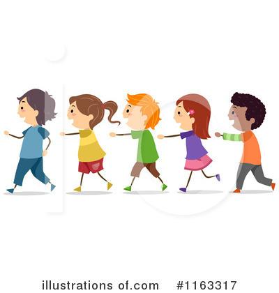 Students Line Up Clip Art #3wQTOd.