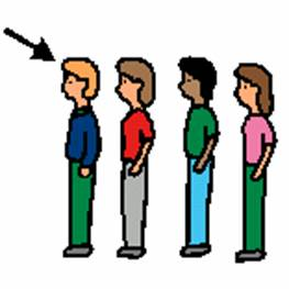 Students In Line Clipart.