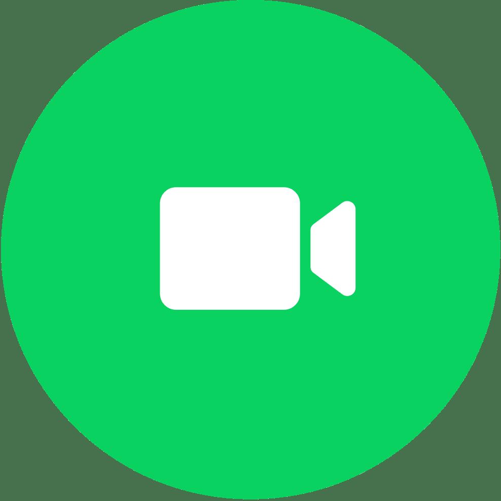 Whatsapp Video Calling transparent PNG.