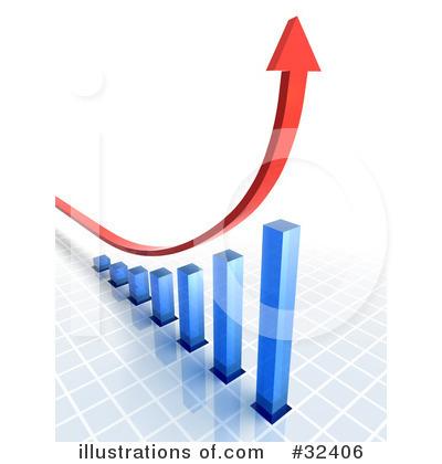 Linear Graph Clipart.