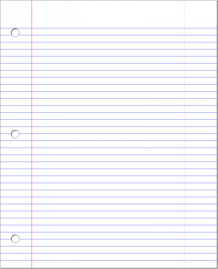 Lined Paper Png Vector, Clipart, PSD.