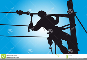 Electrical Lineman Clipart.