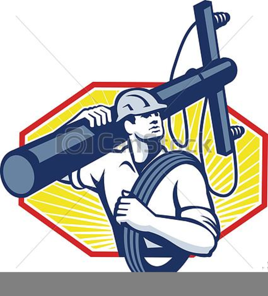 Electric Lineman Clipart.