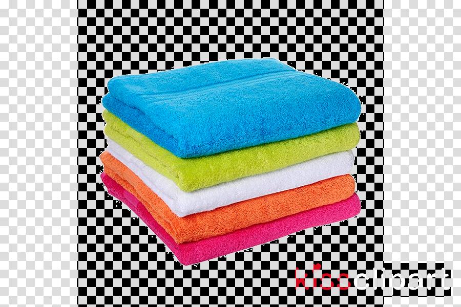 towel textile turquoise linens polar fleece clipart.