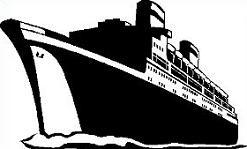 Free Ocean Liner Clipart.